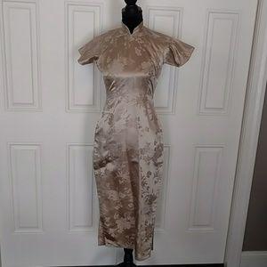 Vintage Cheongsam Chinese Dress